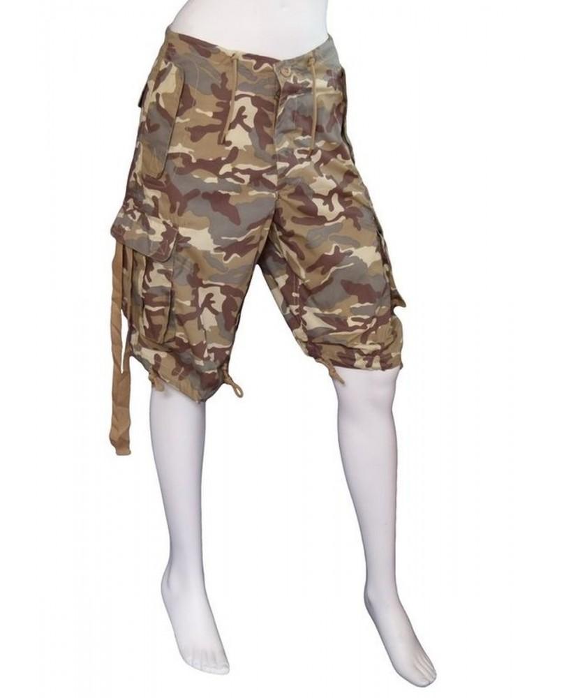 Bermuda Sport Homme & Femme Camouflage Désert