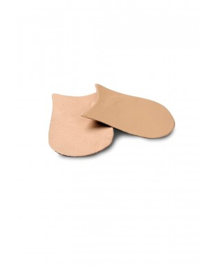 Leather caps for pointe shoes