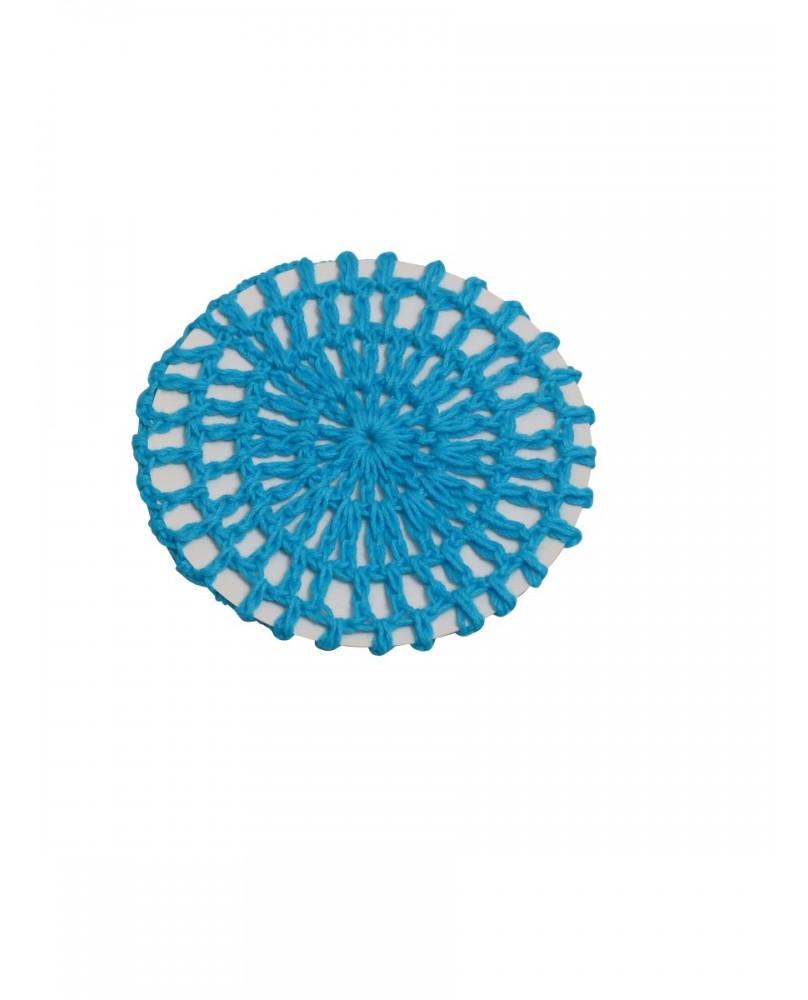 Filet à Chignon Bleu Turquoise